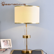 Buy 2 get 15 Off Clear Crystal Glass Stick Table Lamps For Bedroom Living Room Bedside