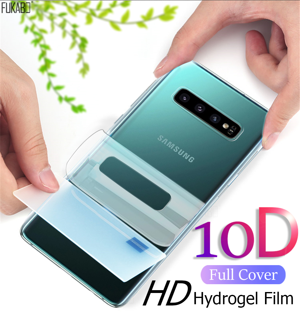 10D Back Hydrogel Film For Samsung Galaxy A50 A70 A51 A71 S10 S9 S8 Plus Screen Protector For Samsung S10e Note 10 Pro Not Glass