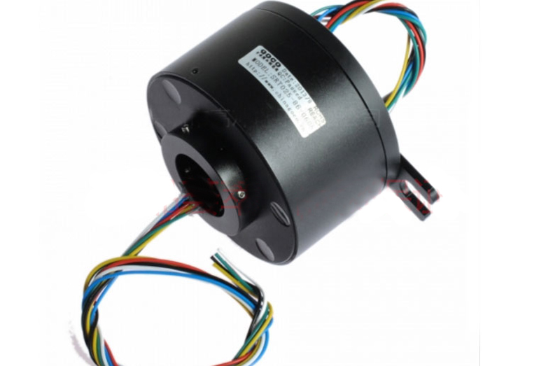 1PCS 2/4/6/8/12ch Wires 2A 10A Hollow Shaft Slip Ring Hole 5 38.1mm D22 99mm Conductive Rotary Joint Electric Slipring Connector|Parts & Accessories| |  - title=