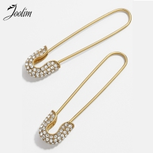 Joolim Stylish Pins Earring Trendy