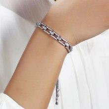 Женский браслет с регулируемым размером элегантные браслеты