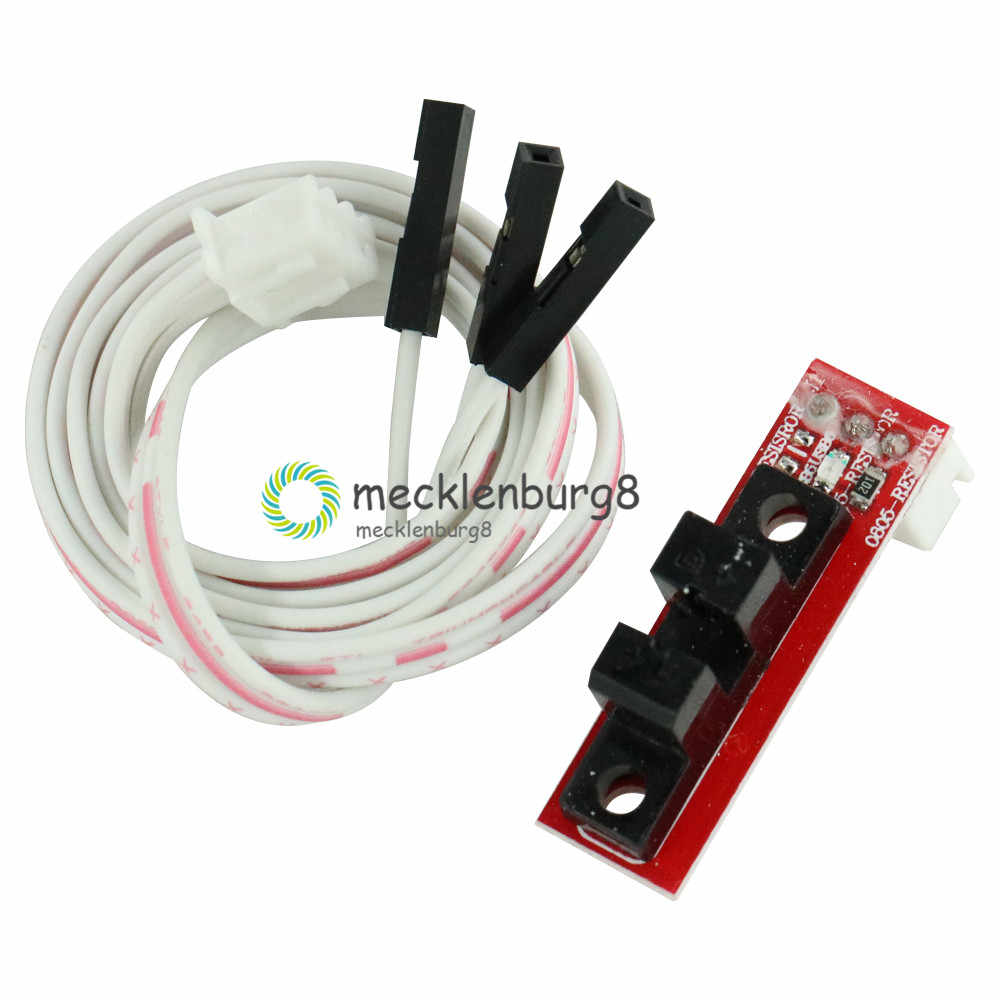 Optik Pemberhentian Terakhir Sensor Optoelectronic Limit Switch Modul RepRap Photoelectric End Stop Beralih 3D Printer Aksesori