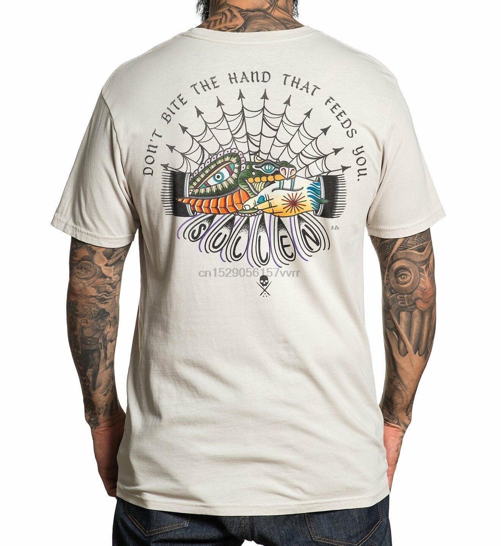 SULLEN abbigliamento non morso Premium Fit T-Shirt sabbia M-5XL nuovo