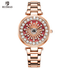 купить Montre Femme Gold Bracelet Women Watches Luxury Brand Crystal Diamond Ladies Watch Quartz female casual clock relogio feminino дешево