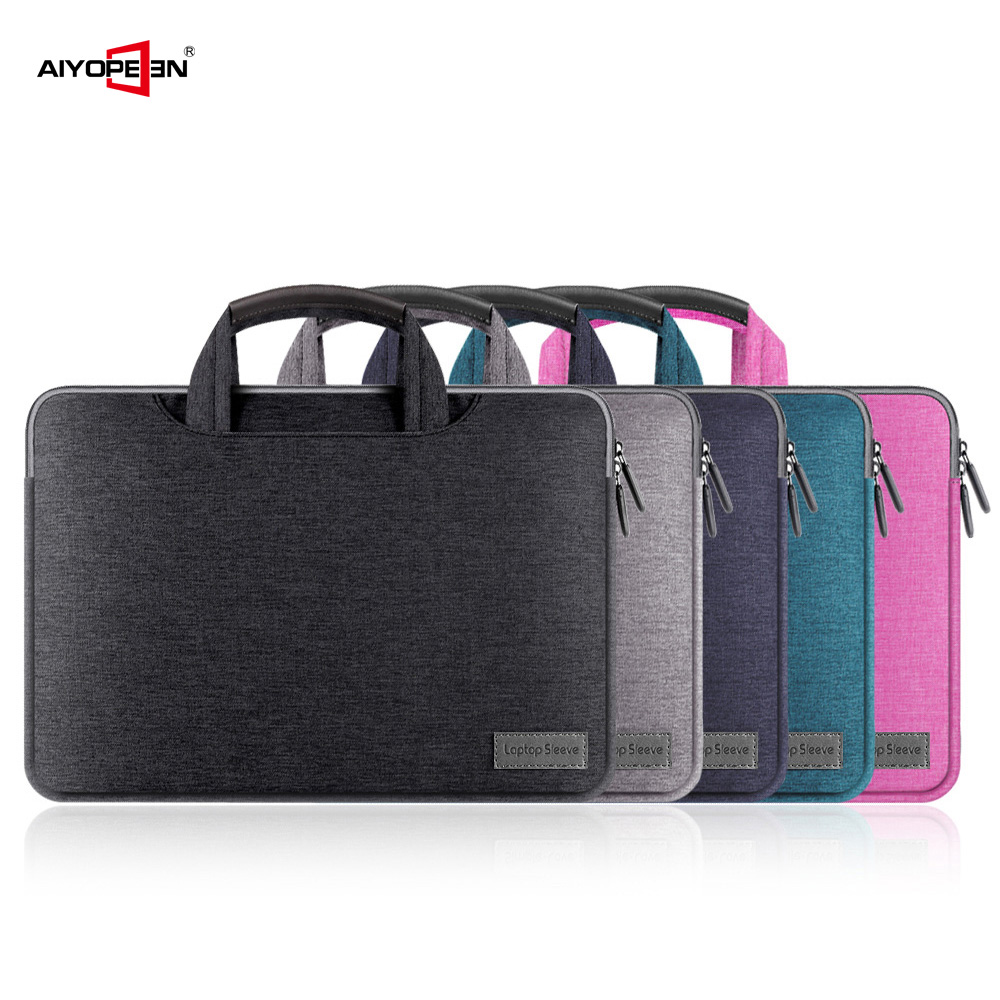 Laptop Notebook Case Sleeve Bag 11 12 13 15 15.6 Sleeve Cover for Macbook Pro Air Retina case Handbag for ipad 12.9 2017 image
