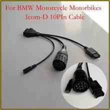 3в1 мотоциклетный Конверсионный кабель для BMW ICOM A2 с мотоциклами D кабели Авто Ремонт Диагностика
