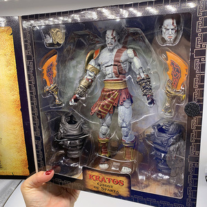 NECA Action Figure God of War Ghost of Sparta Kratos PVC Action Figure Collectible Model Toys Doll Gift Boxed