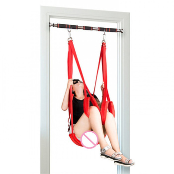 Adult Sex Swing Chairs Hanging Love Swing Sex Toys for Couples Erotic Products Door Swing with Fitness Pole Sex Furniture