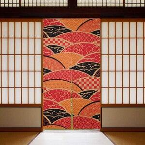Image 2 - Nicetown 18 Patroon Afdrukken Japan Noren Doorway Gordijn Gescheiden Tapestry Tavern Familie Restaurant Eetkamer Keuken
