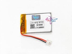 Image 3 - JST batería recargable de polímero de litio para auriculares Mp3, XH, 2,54mm, 503450, 523450, 3,7 V, 1000MAH, almohadilla para auriculares, DVD, cámara bluetooth