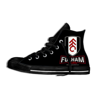 fulham fc Lightweight High Top Leisure Shoes Men/Women FC Football Soccer Fans Casual Shoes Canvas Breathable Sneakers