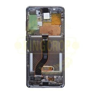 Image 4 - Für Samsung Galaxy S20 Lcd G980,G980F, g980F/DS mit Rahmen Display Touchscreen Digitizer Für Samsung s20 plus LCD G985 G985F
