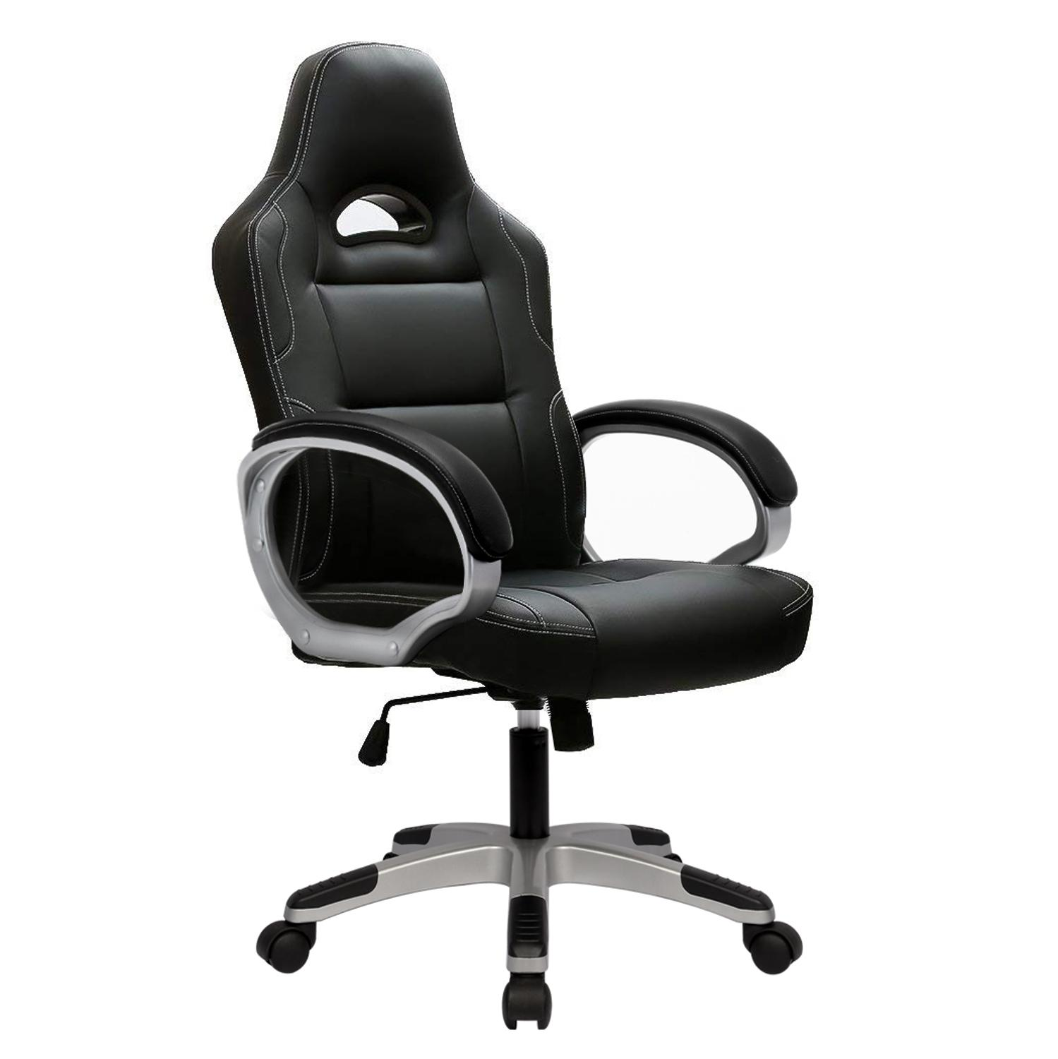 Gaming Computer Chair Ergonomic Office PC Swivel Desk Chairs For Gamer Adults And Children With Arms A35