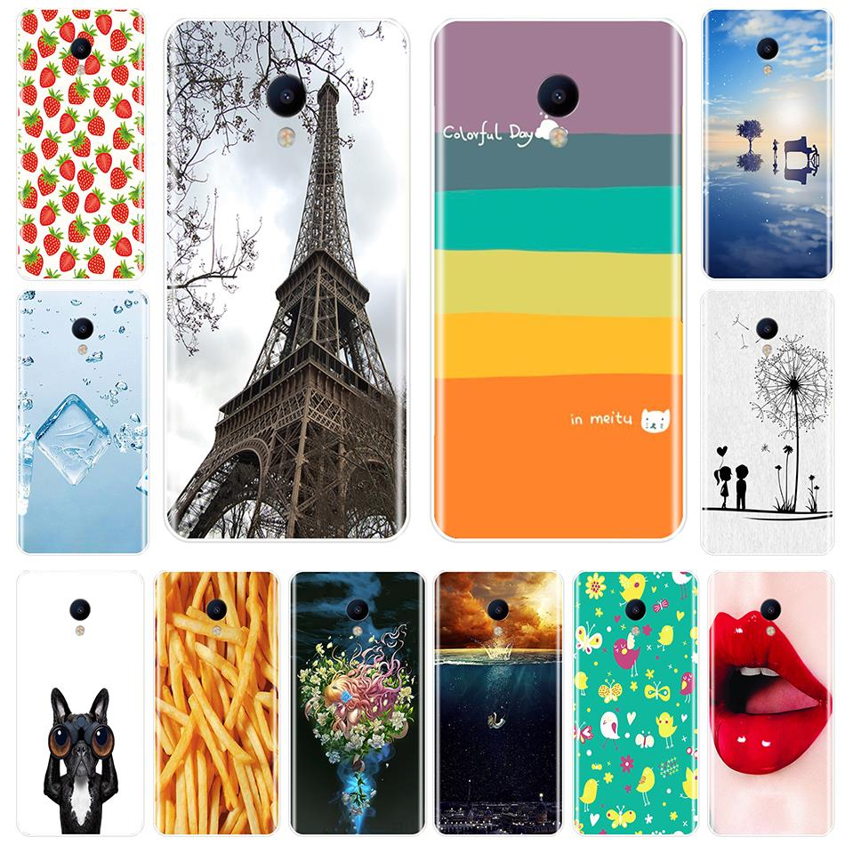 Phone Case For <font><b>Meizu</b></font> M6 M6S M5C M5 M5S <font><b>M3S</b></font> M3 M2 Soft Silicone TPU Cute Aesthetic <font><b>Back</b></font> <font><b>Cover</b></font> For <font><b>Meizu</b></font> M6 M5 M3 M2 Note Case image
