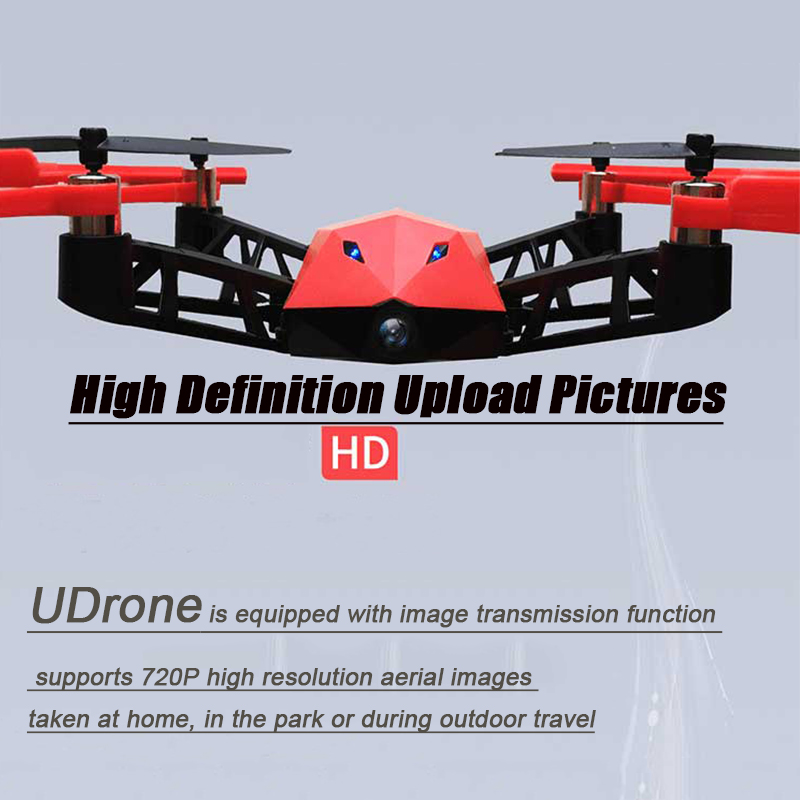Original UDrone mind reading drone HD AI camera Face tracking 1080P Suit PK Drone 4k mi drone air drone Mini VS S9HW UMind in Camera Drones from Consumer Electronics