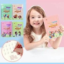 Copybook Magic Letter for Kids Calligraphic Handwriting Practice Writing-Practice-Workbook