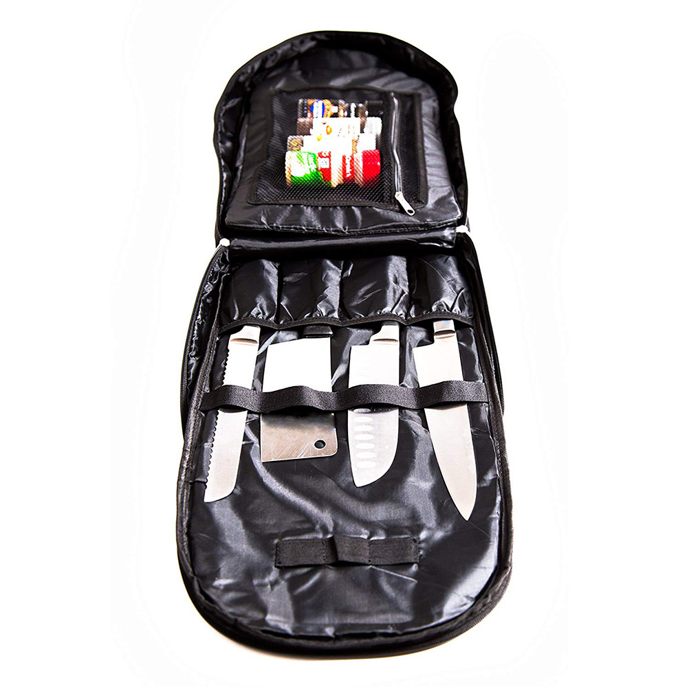 Oxford Cloth Toolkit Chef Knife Bag Knife Bag Large Capacity Knife Bagging Crestor Logo|Pneumatic Tools| |  - title=