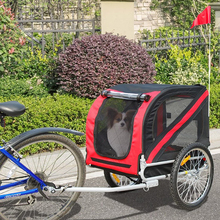Dog Trailers Bicycle Trailers Bicycle Trailers For Animals Dog Carriers Foldable Pet Bike Trailer
