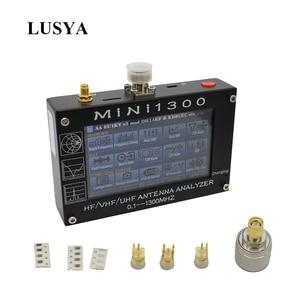 Image 2 - Lusya Mini1300 0.1 1300Mhz Hf Vhf Uhf Ant Swr Antenne Analyzer 4.3 Inch Tft scherm Ingebouwde batterij 5V/1.5A 1.01Firmware L3 003