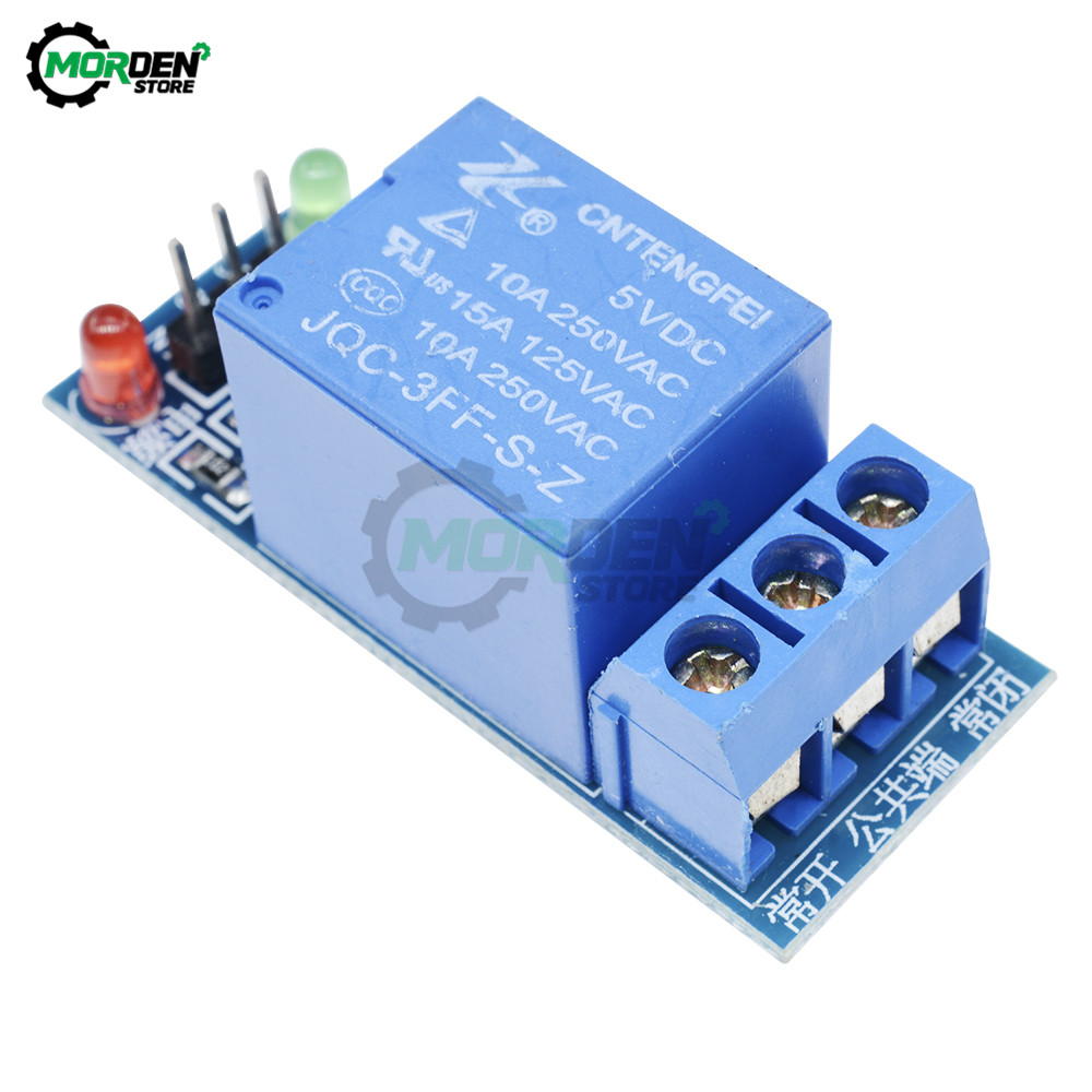 5V Low Level Trigger 1 Channel Relay Module Interface Board Shield For Arduino For PIC AVR DSP ARM MCU