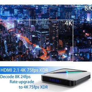 Image 5 - 8K 4K A95X Android 10.0 TV BOX Amlogic S905X3 Youtube wifi 2.4G&5.8G 64GB Set Top Box
