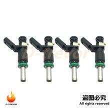 4 adet A2720780249 yakıt enjektörü için Mercedes SLK R E SLK GLK ML S 3.5L 3.0L