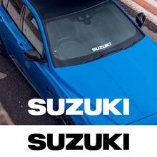 Bumper-Decals Windshield-Stickers Modification-Accessories Car-Logo Rear Window SUZUKI