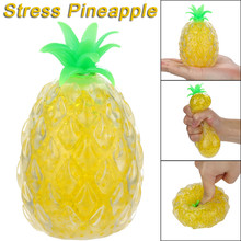 Губчатая бусина Squishies ананас сжимается игрушка давление снятие стресса игрушки подарки