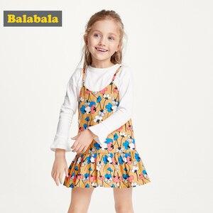 Image 1 - Balabala vestido de princesa para niña, traje Floral para niña, trajes de fiesta, disfraz de mariposa, ropa para niño
