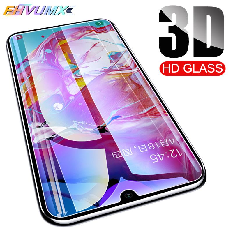 3D Protective Glass For Samsung Galaxy A10 A20 A20E A30 A40 A40S A50 A60 A70 A80 A90 M10 M20 M30 2019 Screen Tempered Glass Film