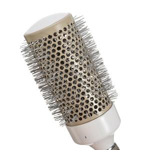 Image 5 - 5pcs Professional Hair Brush Nano Hairbrush Thermal Ceramic Ion Round Barrel Comb Hairdressing Hair Salon Styling Drying Curling