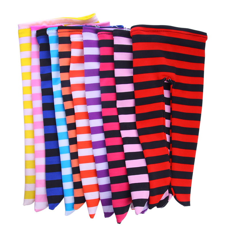 New Doll Fashion Eight Color Striped Leggings  For 18 Inch American Doll 43cm Baby Doll Clothes, Generation, Gift
