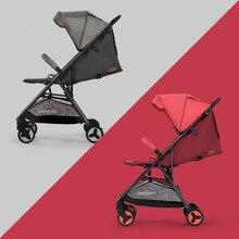 5,7 кг легкая Портативная Складная Роскошная детская коляска s на самолете Горячая мама детская коляска четыре колеса тележка