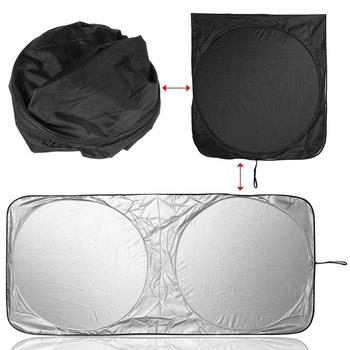 Car Cover Car Front Window Sun Shade Visor Folding Windshield Anti-UV Cover Protector car accessories автоаксессуары для авто image