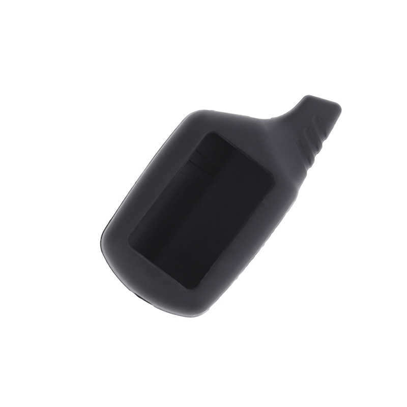 Baru Silikon B9 LCD Body Cover Case 2 Way Mobil Alarm untuk Starline B9 Remote Kunci Rantai Warna Acak