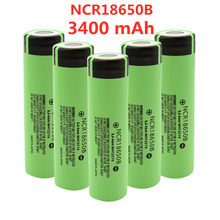2021 New Original NCR18650B 3.7V 3400 mah 18650 Lithium Rechargeable Battery For Flashlight batteries