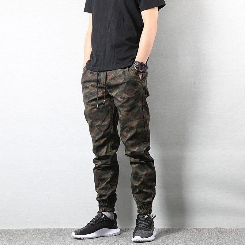 Fashion Men's Jeans Jogger Pants Camouflage Cargo Pants Men Military Army Pants Homme Hip Hop Jeans Men Jeans Men Clothes 2020