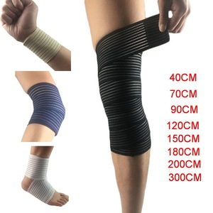 1Pcs Cotton Elastic Bandage For Wrist Calf Elbow Leg Ankle Protector Compression Knee Support Band Sport Tape Fitness Safety(China)