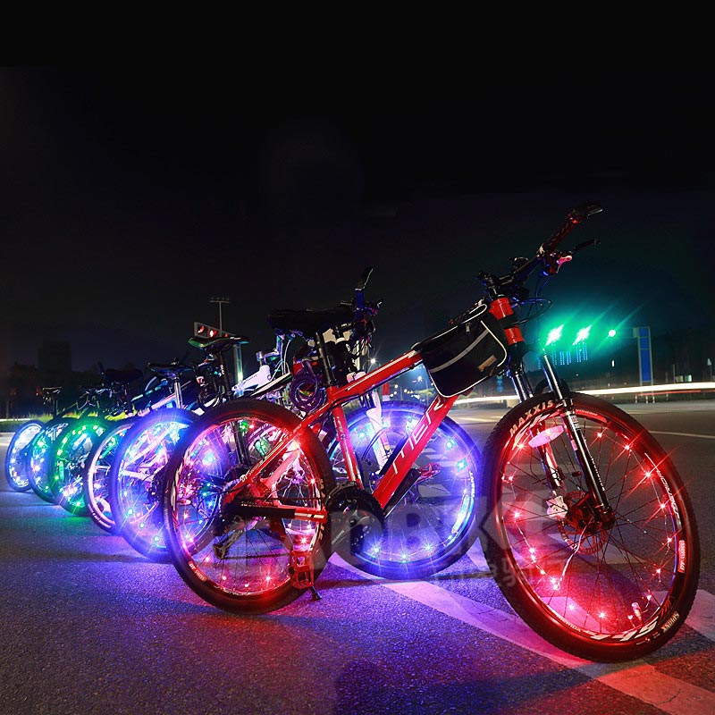 BRELONG New LED Bicycle Wheel Light Hot Wheels Spoke Lights Decorative Lighting AAA Battery Powered  1 Pc