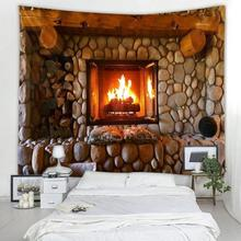 Fashion Art Pattern Home Tapestry 2Size Sofa Mat Headboard Cover Table Cloth Fireplace Pattern Wall Tapestry Creative Scarf цена 2017