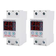 230VAC 40A/63A SVP-916 50/60Hz Регулируемая Защита от скачков напряжения реле ограничение тока защита