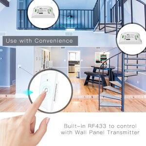 Image 5 - Rf433 wifi 스마트 벽 터치 스위치 없음 중립 와이어 필요 스마트 단일 와이어 벽 스위치 alexa google 홈 170 250 v 작동