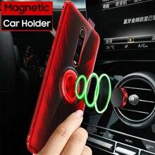 For Xiaomi Mi 9t Case Funda For Redmi Note 7 K20 Pro Case For Xiaomi Mi 9 Mi9 SE Back Cover Cases Clear TPU Magnetic Car Holder for xiaomi mi 9 case mi 9 se silicone soft tpu fiber cover business handcraft phone case for xiaomi mi9 se funda capa coque