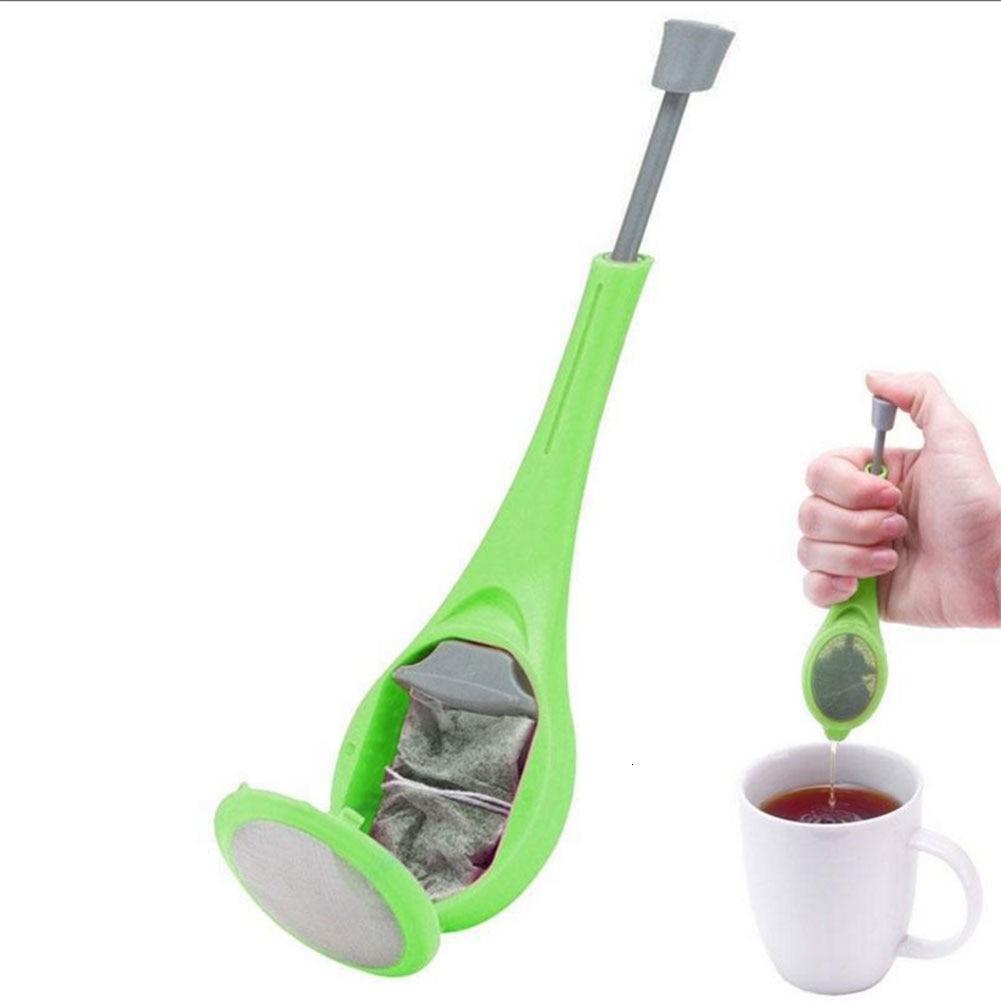 1pc Green Silica Gel Tea Filter Filter Tea Maker Tea Strainer Healthy Flavor Diffuser Measure Swirl Total