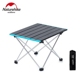 Naturehike stół piknikowy aluminiowy składany stół ogrodowy przenośny składany stół wędkarski stół do grillowania ultralekki stół kempingowy na zewnątrz tanie i dobre opinie CN (pochodzenie) Naturehike Picnic Table 34 5x41x29cm (13 5x16 1x11 4 inch) 50x20x10cm (19 7x7 8x3 9 inch) about 0 9kg (1 98 Lbs)