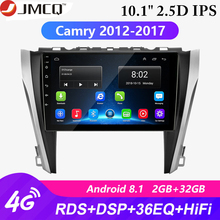 For Toyota Camry 8 50 55 2012-2017 4G Wifi Android 8.1 2din Car Radio 2G+32G coche players RDS Navigation GPS Head Unit 2 Din