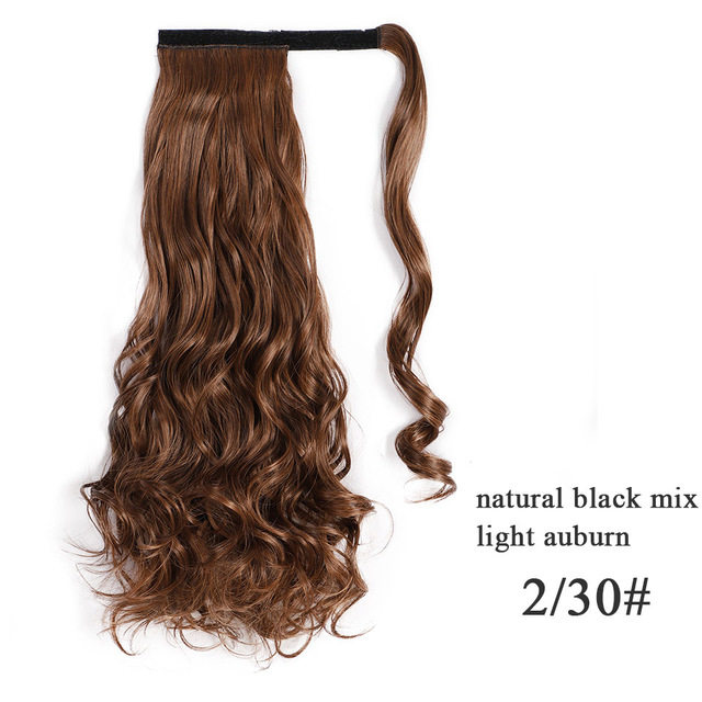 Vigorous-Corn-Wavy-Long-Ponytail-Synthetic-Hairpiece-Wrap-on-Clip-Hair-Extensions-Ombre-Brown-Pony-Tail.jpg_640x640 (15)