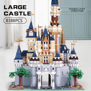 Image 2 - Mould King 13132 Toys Compatible With 71040 Cinderella Princess Castle Model Building Block Kids Toys Gifts Kids Christmas Toys
