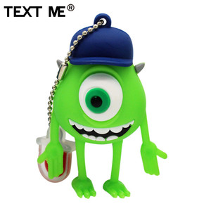 Image 2 - TEXT ME cute cartoon 3 colour Monster University usb flash drive usb 2.0 4GB 8GB 16GB 32GB 64GB pendrive best gift
