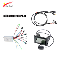 36V 350W/500W LED/LCD Display Electric Bike kit  E-bike Controller Set Waterproof Cable Bicicleta Electrica parts  Motor Part